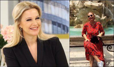 JASHTË EKRANIT E ME PUSHIME/ Rudina Magjistari tërheq vëmendjen me stilin (FOTO)
