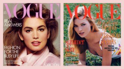 """NGA KATE TEK HUTTON/ Njihuni me 5 modelet që numërojnë më shumë kopertina reviste """"VOGUE"""" se të tjerat"""