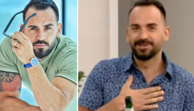"""""""O ZOT PËRJETOVA TËRMET""""/ Florian Agalliu """"FËLLIQET"""" në mes të emisionit, trembet keq (VIDEO)"""