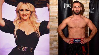 """""""JA FUTE VETES TANE""""/ Moderatorja dedikim surprizë të dashurit boksier: S'më ndalin dot 40 si ty (VIDEO)"""