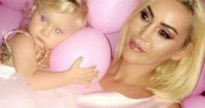 VOGËLUSHJA FESTON DITËLINDJEN/ Fjolla Morina i dedikon vajzës së saj mesazhin e ëmbël