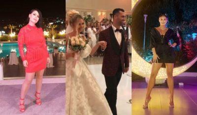 U KURORËZUA ME MARTESË/ Ja si janë veshur të ftuarit në dasmën e Erik Lloshit (FOTO)