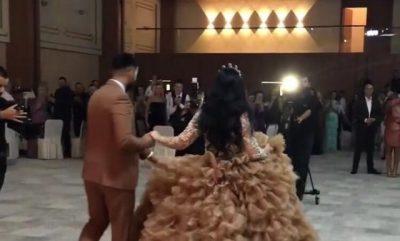 DUKET SI PRINCESHË/ Këngëtarja shqiptare bën fejesën madhështore (VIDEO)