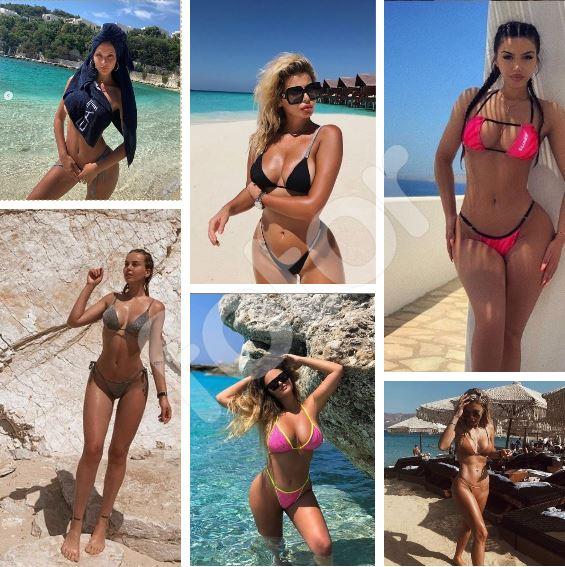 """TRENDI MË """"I NXEHTË""""/ Vajzat shqiptare sapo sollën bikinit e """"vogla"""" dhe ne i adhurojmë (FOTOT)"""