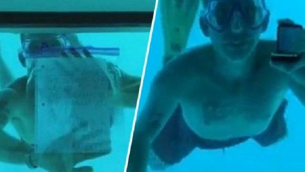 TRAGJIKE/ Mbytet teksa po i propozonte të dashurës nën ujë (FOTO)