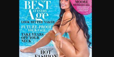 28 VITE MË VONË/ Demi Moor zhvishet dhe pozon për revistën e famshme (FOTO)