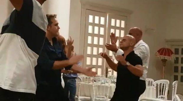 """""""DO QESHNI ME LOT""""/ Juli dhe XHODA bëjnë kërcimin EPIK në festën e """"I love Tropoja"""" (VIDEO)"""