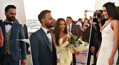 DALIN PAMJET NGA CEREMONA/ Jonida Vokshi dhe Besniku kurorëzohen në martesë