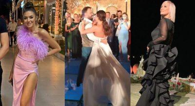 U MARTUAN DJE/ Ja si ishin veshur VIP-at në dasmën e Jonidës dhe Besnikut (FOTO)