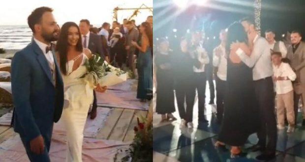 MARTOHET JONIDA DHE BESNIKU/ Në dasëm lind një çift i ri (VIDEO)