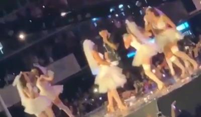 SURPRIZË/ Nuset pushtojnë skenën në koncertin e Capital T (VIDEO)