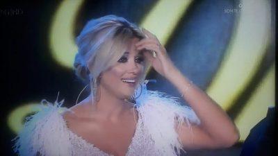 """""""TËRMET ISHTE KY?"""" Alketa tmerrohet live në """"Dance with me"""" (FOTO)"""