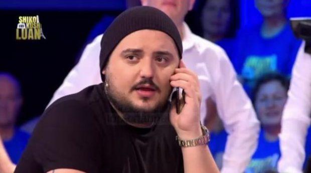 """""""A JE ME FEMRA RROTULL?"""" Gruaja e Lumi B e telefonon reperin në mes të emisionit (VIDEO)"""