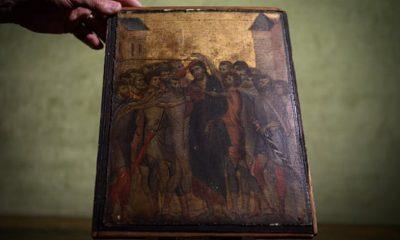 E PABESUESHME/ Gruaja zbulon se piktura që mbante në kuzhinë vlen 4-6 milionë euro