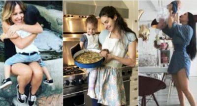 PAMJE TË ËMBLA/ Ja si mamatë shqiptare VIP gatuajnë me vogëlushët e tyre (FOTO)