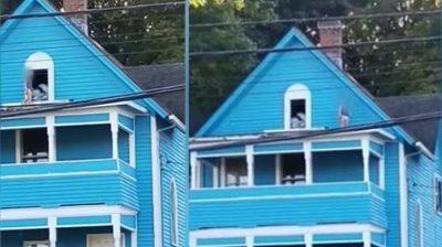 PAMJE DRITHËRUESE/ Djali 2-vjeçar shëtiste në çatinë e shtëpisë, babai po flinte gjumë