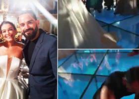 """""""PËR TË QARË DHE PËR TË QESHUR""""/ Moderatori i """"Top Channel"""" rrëzohet në mes të pistës së xhamit teksa… (VIDEO)"""