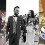 LOJRA, ART DHE HUMOR/ Detajet që e bëjnë të veçantë dasmën e Jonida Vokshit dhe Besnik Krapit (FOTO+VIDEO)