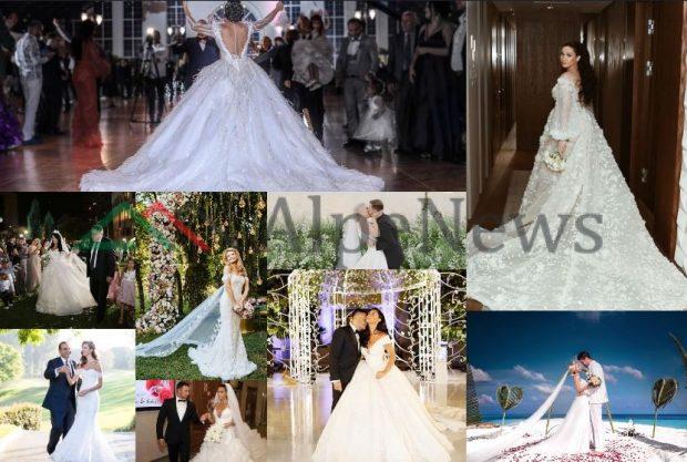 NGA TË THJESHTA NË EKSTRAVAGANTE/ Ja çfarë fustanesh zgjodhën bukuroshet shqiptare ne dasmat e tyre (FOTO)
