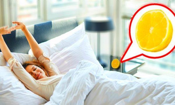 DUHET TA PROVONI/ Vendosni një limon afër shtratit tuaj dhe shikoni çfarë do të ndodhë