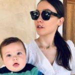 """""""JAM MAMA MË LINI TË JEM PATETIKE""""/ Jona Spahiu poston foto nga ditëlindja e parë e djalit"""