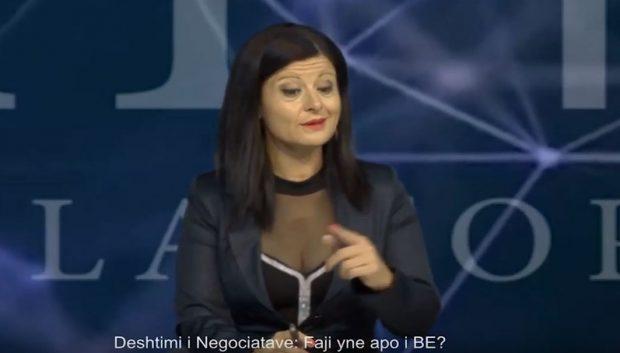 """VIDEO E SAJ ME TË SHARA U BË VIRALE/ Flet moderatorja: """"E përjetova keq, është sulm politik"""""""