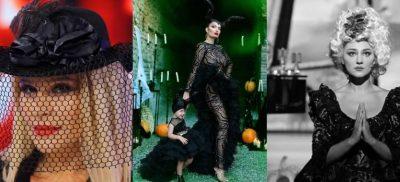 NGA RUDINA MAGJISTARI TE JUL DEDA/  Ja si janë transformuar VIP-at shqiptarë për Halloween