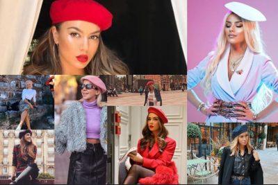 """BERETAT FRANCEZE/ Trendi që po """"çmend"""" VIP-et dhe blogeret shqiptare (FOTO)"""