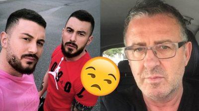 """""""E QUANIN BABA""""/ Agron Llakaj bën për 'ujë të ftohtë' binjakët nga Vlora"""