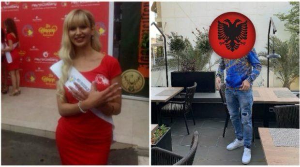 """MISS SERBIA """"fiksohet"""" pas reperit SHQIPTAR/ Shihni çfarë ka bërë, ja si reagon ai! (FOTO)"""