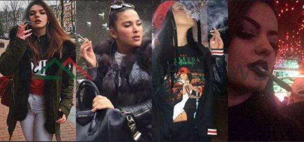 ME HASHASH NË DORË DHE DUKE POZUAR/ Këto femra shqiptare VIP konsumuan drogë në publik (FOTO)