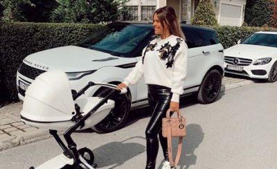 1 JAVË PAS LINDJES/ Ariana Fejzullahu shfaqet në formë fantastike me të bijën (FOTO)