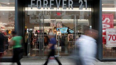 """NUK PËRBALLOI DOT BORXHET/ Brendi i modës """"Forever 21"""" shpall falimentimin"""