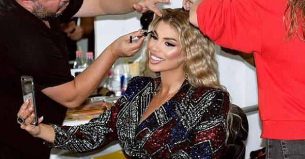 HEQ ZGJATIMET/ Luana na habit duke na treguar flokët e saj të vërtetë (FOTO)