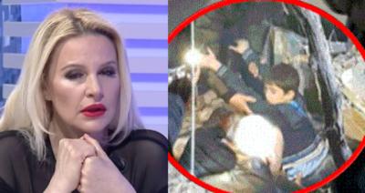 E PREKUR NGA NGJARJA E DHIMBSHME/ Rudina Magjistari qan në mes të emisionit (FOTO)