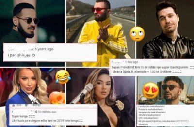 DO TI SHIHNI KUDO/ Ja cilat janë 7 komente tipike të shqiptarëve në këngët në You Tube