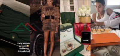 I LLASTUAN PËR DITËN E LINDJES/ Ja dhuratat mijëra dollarëshe që bukuroshet shqiptare morën për 2019!