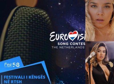 U PËRFOLËN SI FITUESE TË FESTIVALIT/ Publikohen dhe fshihen këngët e Elvana Gjatës dhe Arilena Arës