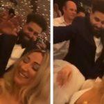 MARTOHET MC KRESHA/ Ndizet atmosfera në dasëm, rreperi e djeg me kërcimin me nusen (VIDEO)