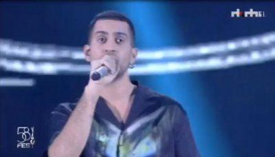 """I FTUAR SPECIAL/ Mahmood elektrizon skenën e """"Festivalit të Këngës"""" (VIDEO)"""