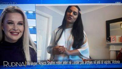 NGA MËMËSIA TEK RIKTHIMI NË SKENË/ Anjeza Shahini jep lajmin e bukur live tek Rudina