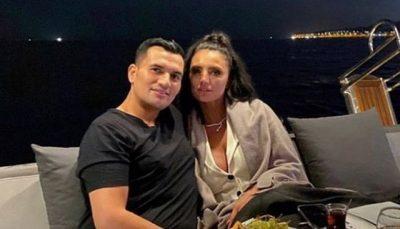 E ULUR NË PREHRIN E TIJ/ Genta Ismajli pozon për herë të parë publikisht me të dashurin turk (FOTO)