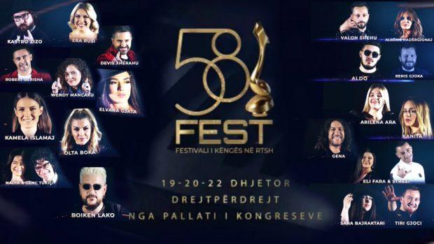 MË NË FUND/ Publikohen këngët e shumëpritura të Festivalit të RTSH