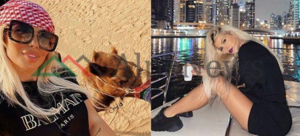 """""""TI MERRU ME EMISIONIN, MOS U…""""/ Për pushime bashkë në Dubai, Marina """"thumbon"""" publikisht Luanën"""