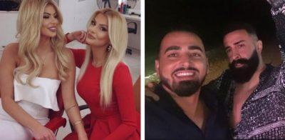 MARINA DHE LUANA ARRATISEN NË DUBAI/ Motrat kalojnë pushimet me Getin dhe Krenarin
