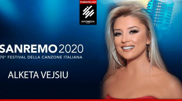 """""""Zhurma"""" e madhe për prezantimin e Alketa Vejsiut në Sanremo!"""