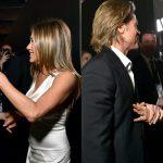 RIKTHEHEN BASHKË PAS 15 VITESH? Në prapaskenën e SAG Awards lindën dyshimet se Brad dhe Jen s'janë thjesht miq (FOTO)