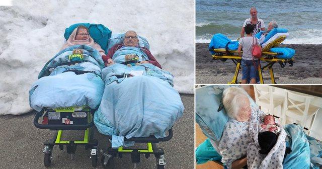 HISTORIA E DITËS/ Donin të shihnin dëborën për herë të fundit, emocionon mjeku që i plotësoi dëshirën çiftit të sëmurë