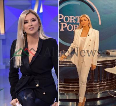 """STILI UNIK/ Alketa Vejsiu """"harron"""" fustanet! Ja TRENDI i ri që zgjedh moderatorja"""
