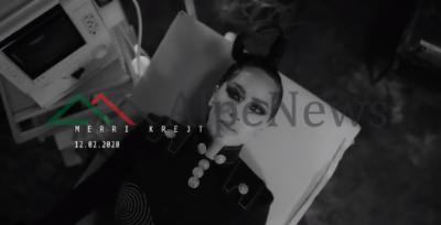 """""""MERRI KREJT""""/ Dafina Zeqiri publikon pamje nga hiti i ri dhe duket tërësisht ndryshe"""